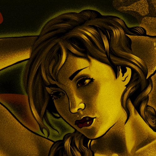 illustration vampires